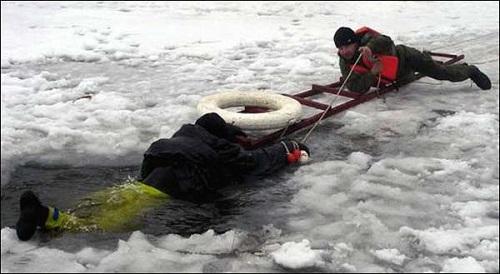 Безопасность по последнему льду