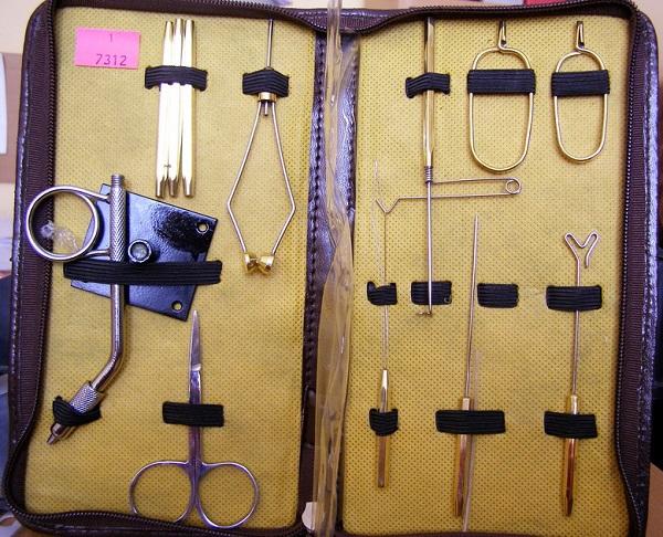 инструменты для вязания рыболовных мушек видео