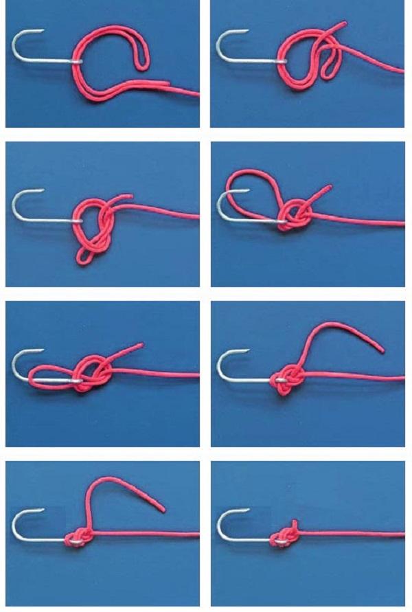 как завязать узлы на донках