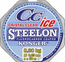 Konger Steelon Cristal Clear Fluorocarbon Coated
