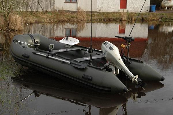 Лодка РИБ для рыбалки