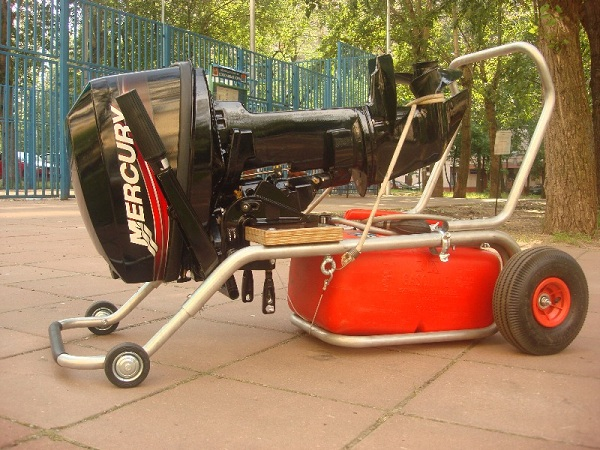 ТМ-2, тележка для мотора