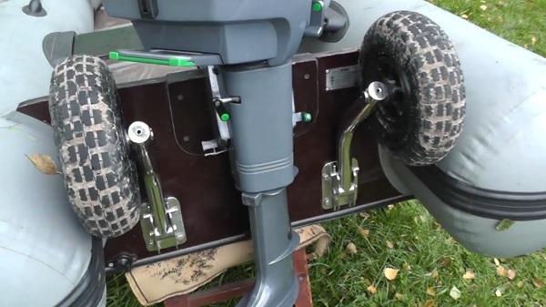установка транцевых колес цена