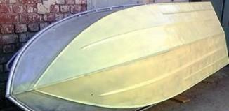 Покраска алюминиевой лодки