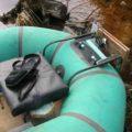 Транец для резиновой лодки