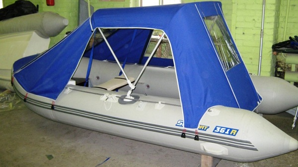 Тент трансформер для лодки своими руками