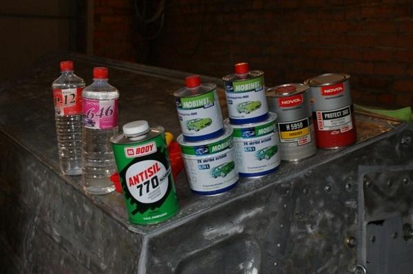 Выбор краски для алюминиевой лодки