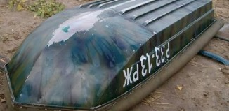 Ремонт пластиковой лодки